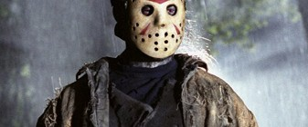 Pretty girl becomes Jason with help from magical face mask