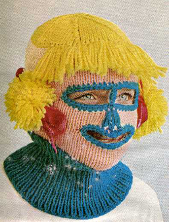 Knit hacker balaclava