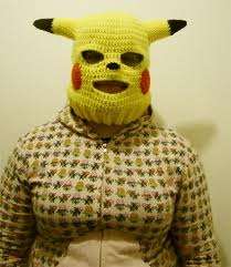 Pokemon ski mask