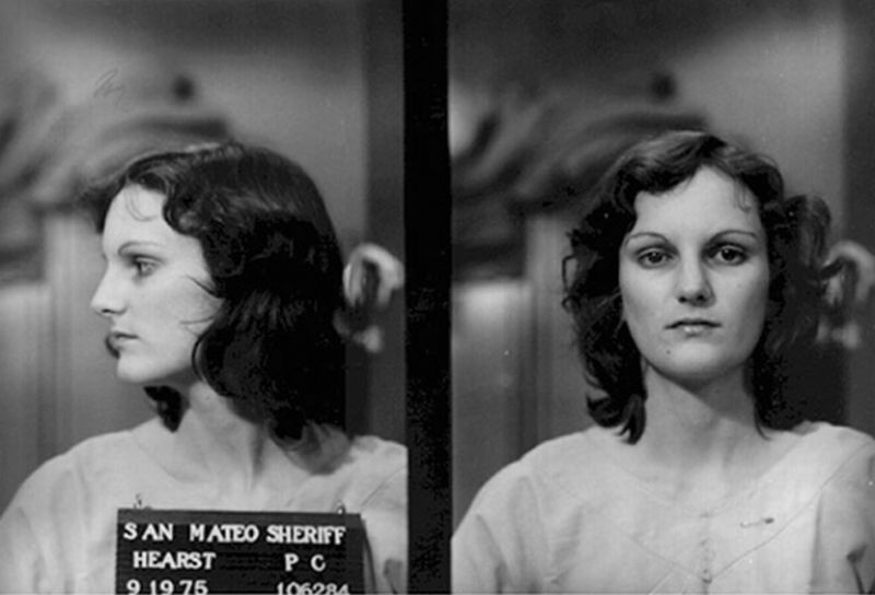 Patty Hearst mugshot