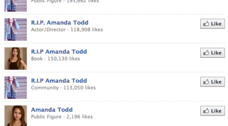 Amanda Todd: Viral in Death