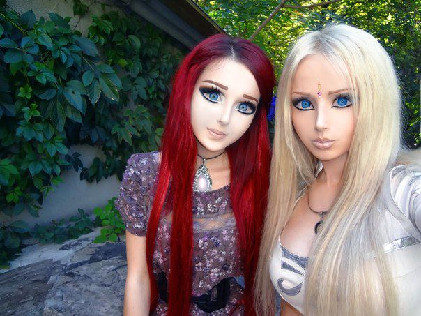 Anime Girl and Barbie Girl