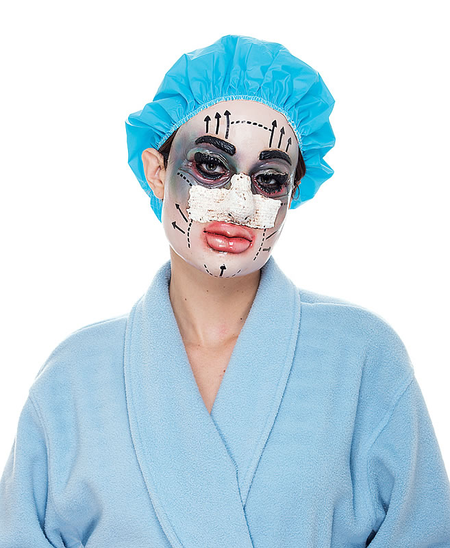 Plastic Surgery Haloween Mask