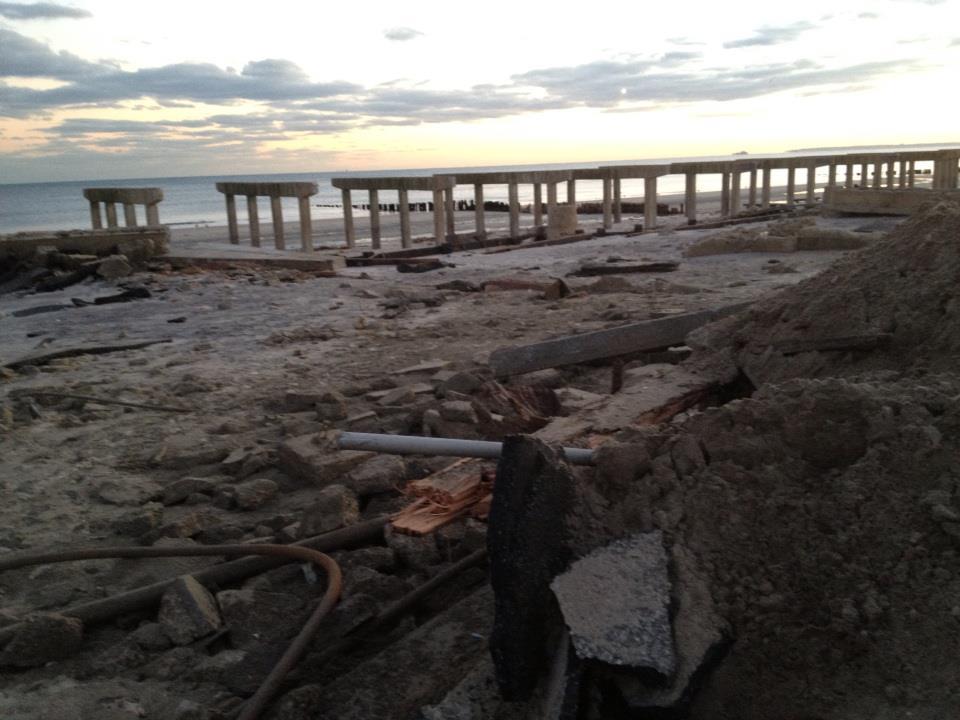 Beach after Sandy
