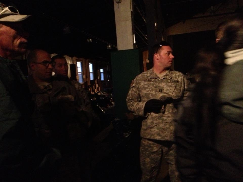 National Gaurd Troops after Sandy in NYC