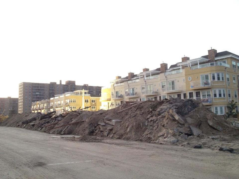 Rockaways destroyed after Sandy