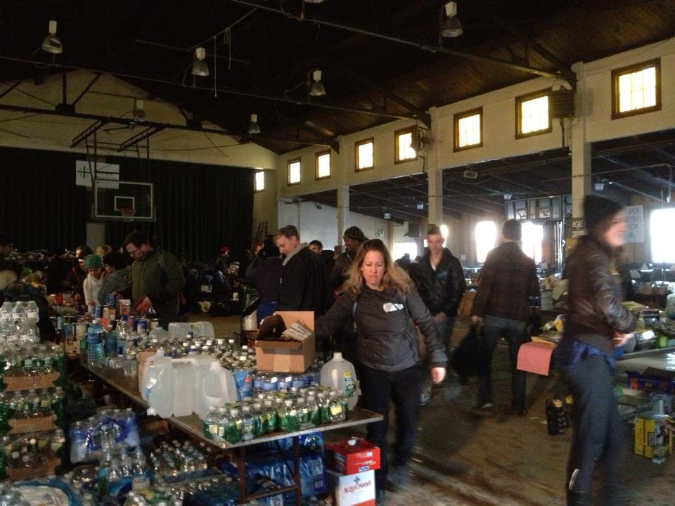 Volunteers Help after Hurricane Sandy